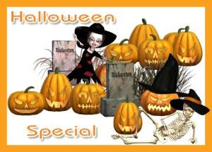 Halloweenspecial Photoshop